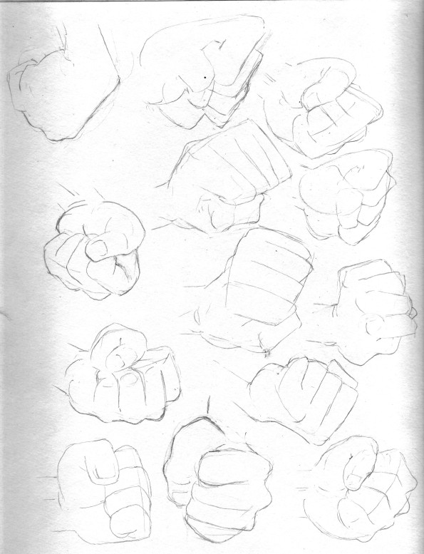 more fists